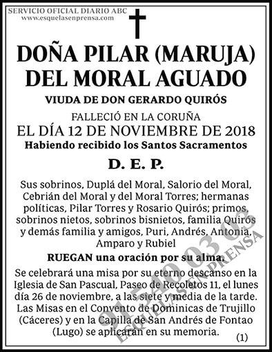 Pilar (Maruja) del Moral Aguado